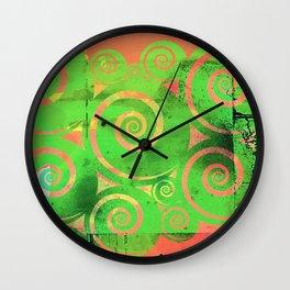 """ Kiwi Lifestyle"" - Kuro Kuro Wall Clock"
