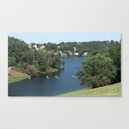 Rivers of Worcester Canvas Print