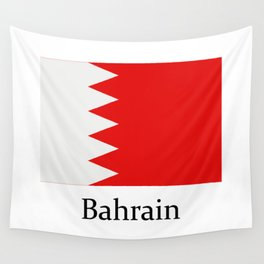 bahrain flag Wall Tapestry