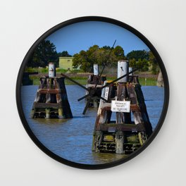 government property Wall Clock