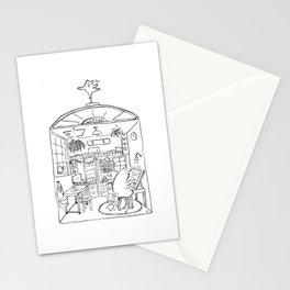 smallhouse01 Stationery Cards