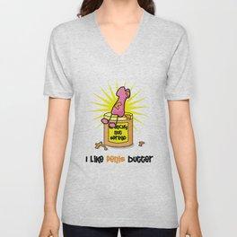 I Like Penis Butter Unisex V-Neck