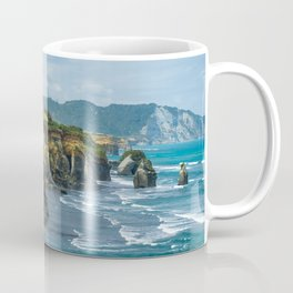 Three sisters elephant rock Tongaporutu Coffee Mug