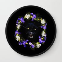 givenchy Wall Clocks featuring GIVENCHY Panther by V.F.Store