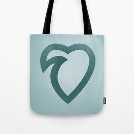 wavelove Tote Bag