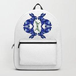 Geometric Rabbits and Plants Backpack