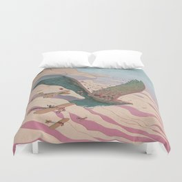 The ancient eagle Duvet Cover