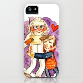 Back to the Future Hug iPhone Case
