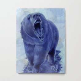 So bear your teeth Metal Print