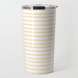 Yellow Scallop Travel Mug
