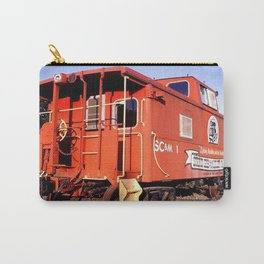 Lil Red Caboose -Wellsboro Ave Hurley ArtRave Carry-All Pouch