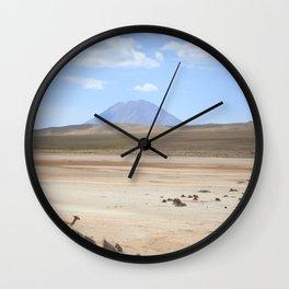 Colca, Arequipa Wall Clock