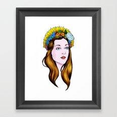 SAINT ANNE Framed Art Print