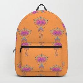 Symbol Art:  Lotus Magic Backpack