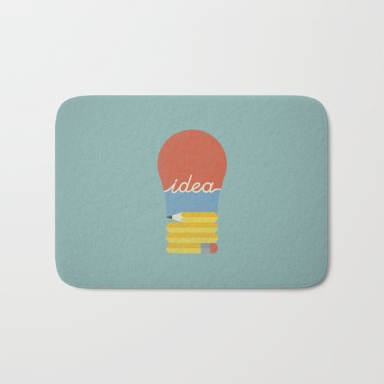 I've Got An Idea Bath Mat