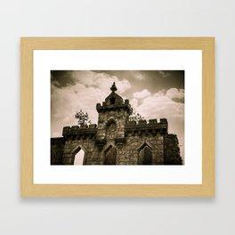 The Haunted Framed Art Print