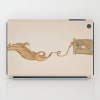 rapunzel iPad Cases featuring Rapunzel. by Liam Clark