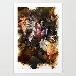 League of Legends Dr. MUNDO Art Print