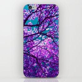 purple tree II iPhone Skin
