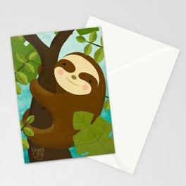Oso Perezoso Stationery Cards