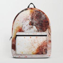 Dog Portrait Spaniel Backpack