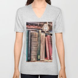 Books Unisex V-Neck