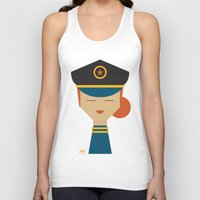 pilot Tank Tops featuring Pilot by Page 84 Design