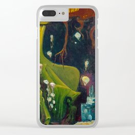 Neomansia Clear iPhone Case