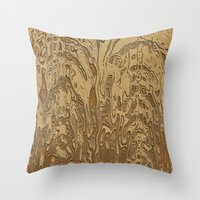twins Throw Pillows featuring Twins by DesignsByMarly