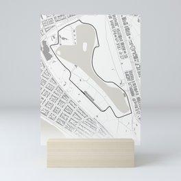 Albert Park Circuit Melbourne Australia Mini Art Print