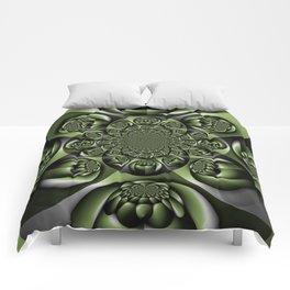 Green Forest Mini Spheres Comforters