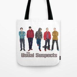 The Usual Suspect casual fashion style Tote Bag