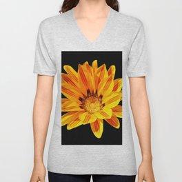 Floral Beauty in Close Up Unisex V-Neck