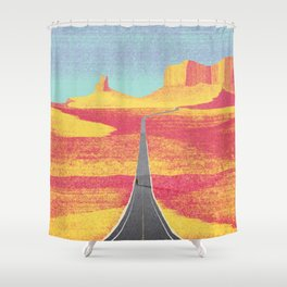 DREAM VACATION / Utah, US Shower Curtain