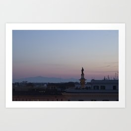 Roman Sunrise Art Print