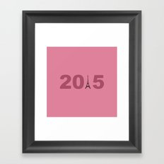 2015-Paris Framed Art Print