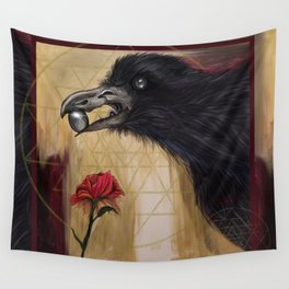 One gem, one flower at a time Wall Tapestry