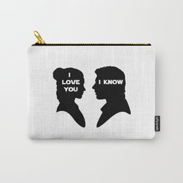 I Love You - I Know Carry-All Pouch