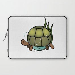 Turtle in a Circle Laptop Sleeve