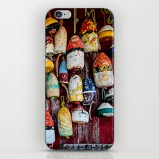 Old Lobster-Crab Fishing Trap Buoys iPhone & iPod Skin