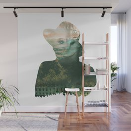 Four Eyed Lady Wall Mural