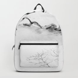 Scots Pine, Gray Backpack