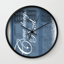 Come Along, Pond Wall Clock
