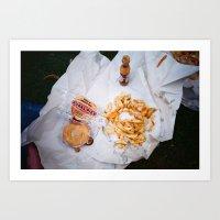 pie Art Prints featuring Pie by Mina Saleeb
