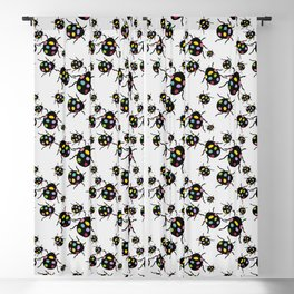 SPRING bugs Blackout Curtain