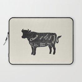 Beef Butcher Diagram Laptop Sleeve