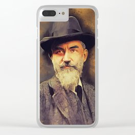 George Bernard Shaw, Literary Legend Clear iPhone Case