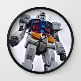 Mobile Suit Gundam Wall Clock