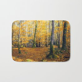 Yellow Trees Bath Mat