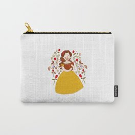 Rumbelle - Belle bookworm Carry-All Pouch
